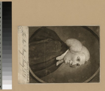 Portrait of Revd Dr B. Preedy