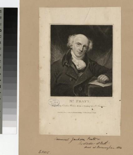Portrait of W. J. Pratt