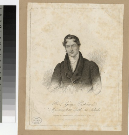Portrait of G. Prichard