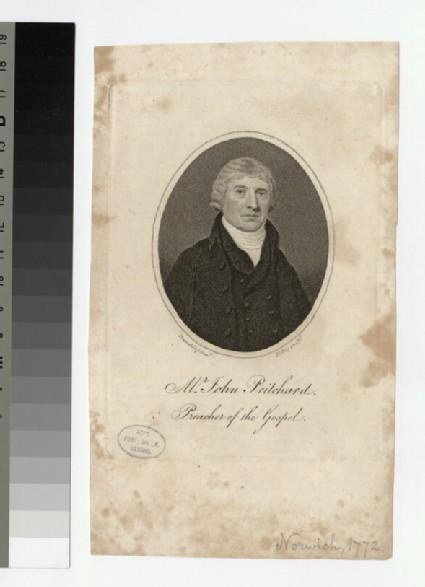 Portrait of J. Pritchard