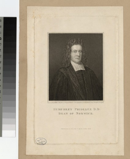 Portrait of H. Prideaux