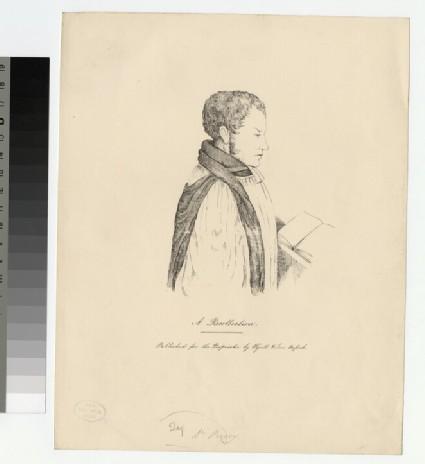 Portrait of Revd Dr E. Pusey