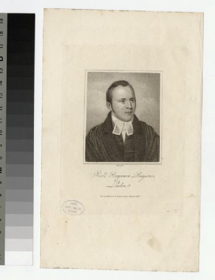 Portrait of B. Rayson