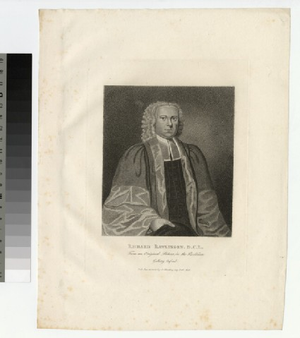 Portrait of R. Rawlinson