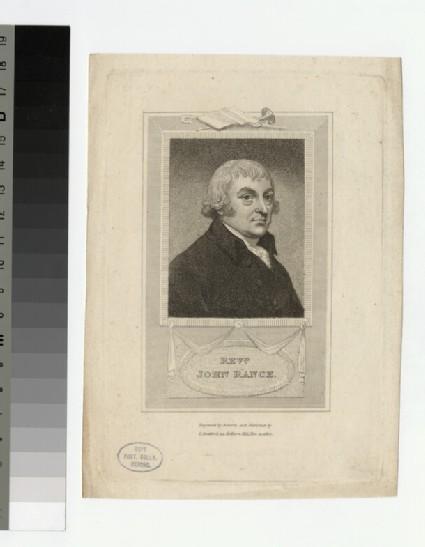 Portrait of J. Rance
