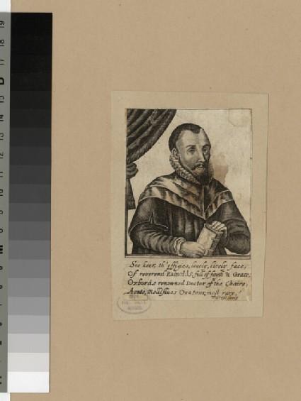 Portrait of J. Rainolds