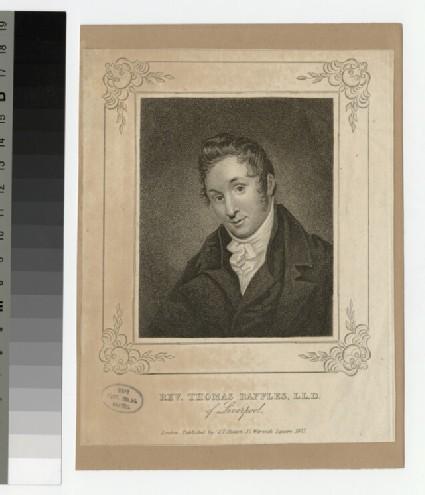 Portrait of Thomas Raffles