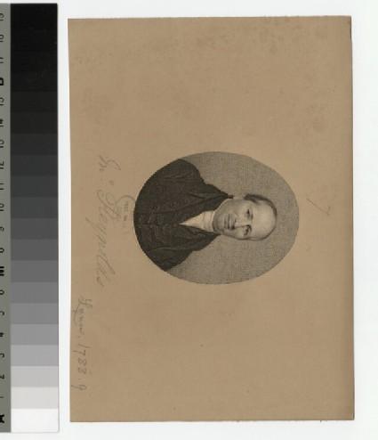 Portrait of J. Reynolds