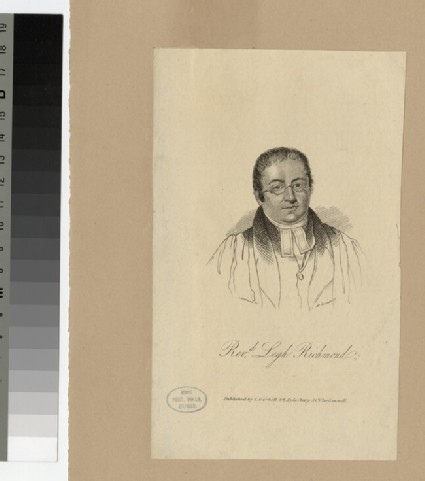 Portrait of Legh Richmond
