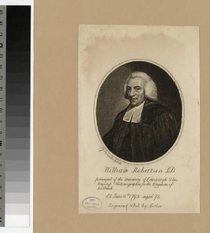 Portrait of W. Robertson