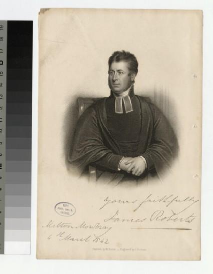 Portrait of J. Roberts