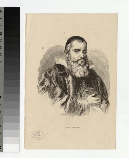 Portrait of J. Robinson