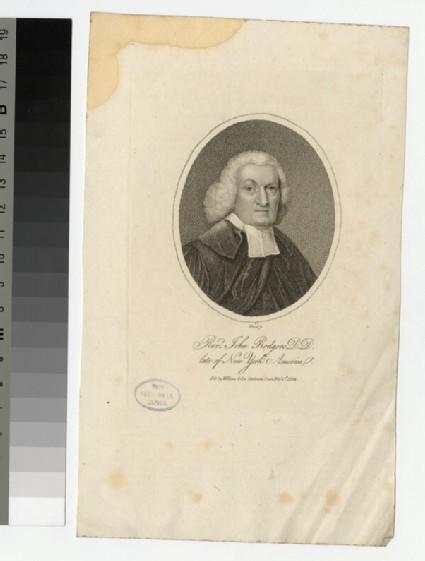 Portrait of J. Rodgers