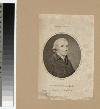 Portrait of R. Rodda