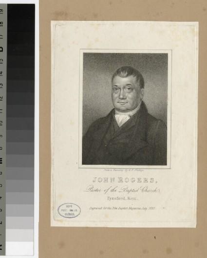 Portrait of J. Rogers