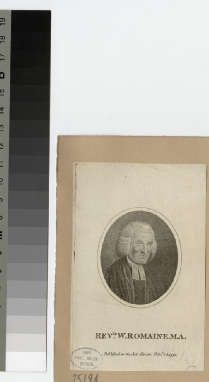 Portrait of W. Romaine