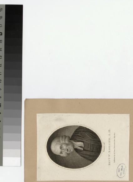 Portrait of Revd W. Romaine