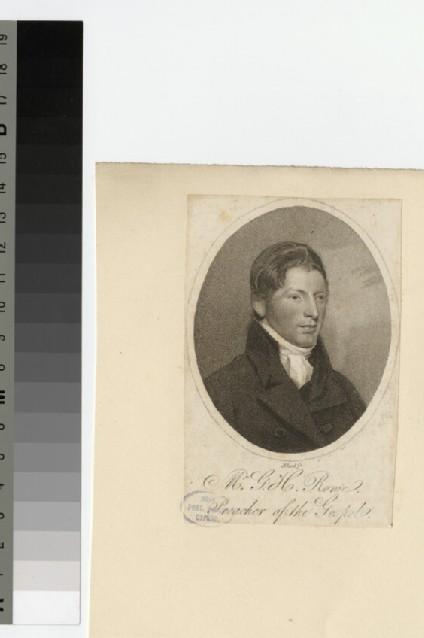 Portrait of G. H. Rowe