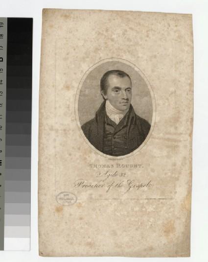 Portrait of T. Rought