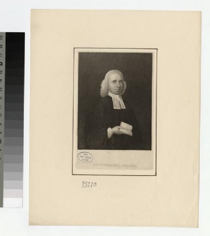 Portrait of W. Sellon