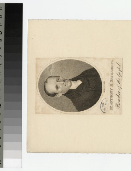 Portrait of A. B. Seckerson