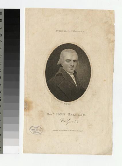 Portrait of J. Saltren