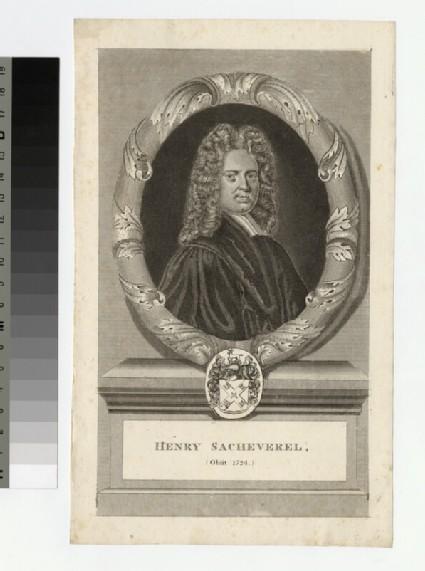 Portrait of Revd Dr H. Sacheverell