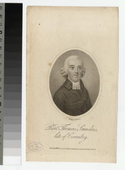 Portrait of T. Saunders