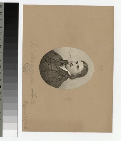 Portrait of J. Saunderson