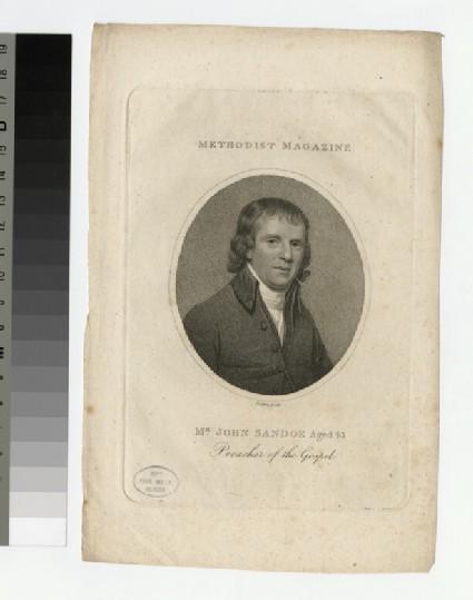 Portrait of J. Sandoe