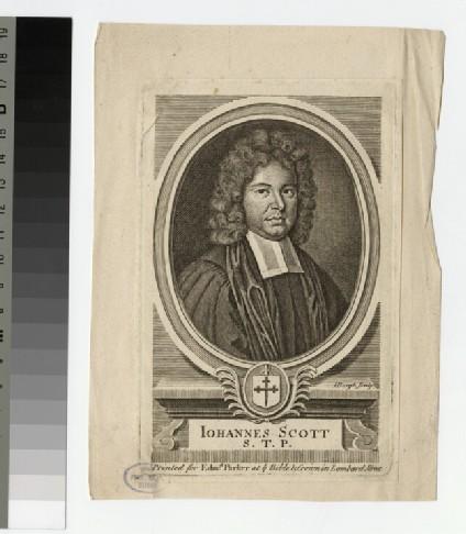 Portrait of Johannes Scott