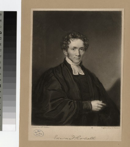 Portrait of Edward Scobell