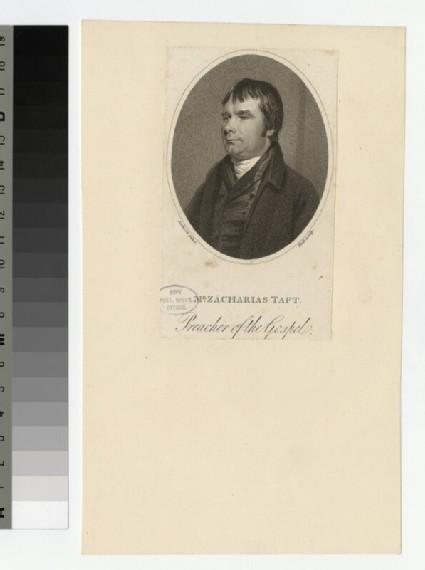 Portrait of Z. Taft