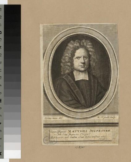 Portrait of M. Sylvester