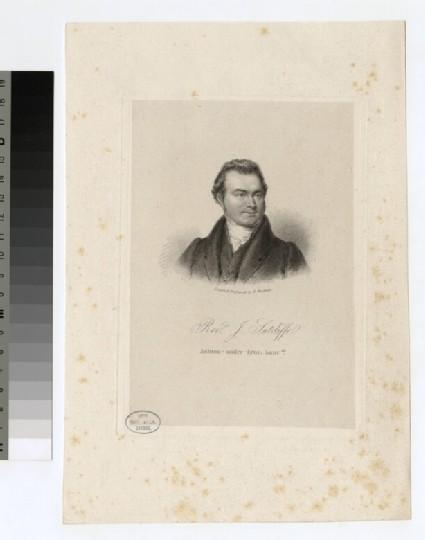 Portrait of J. Sutcliffe