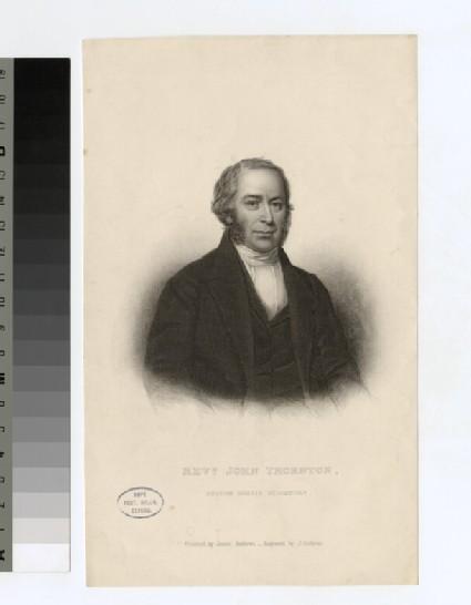 Portrait of J. Thornton