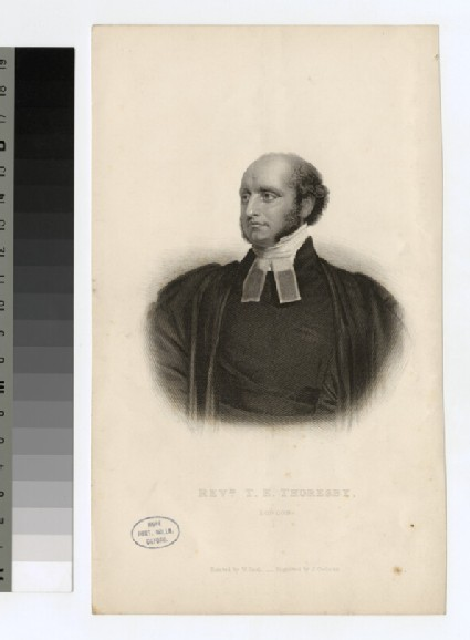 Portrait of T. E. Thoresby