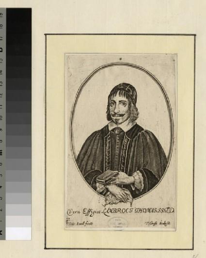 Portrait of Revd Dr L. Thomas