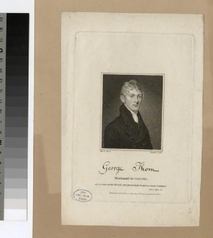 Portrait of G. Thom
