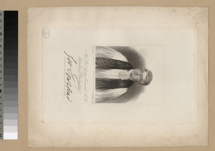 Portrait of G. Townsend