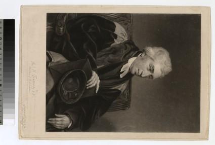 Portrait of Revd DR W. Tournay