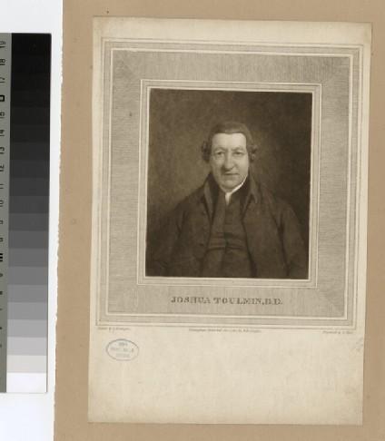 Portrait of J. Toulmin