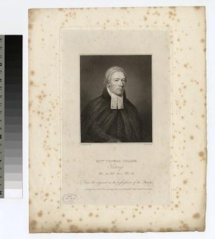 Portrait of Revd Thomas Toller of Kettering