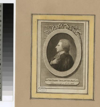 Portrait of Revd sir H. Trelawney
