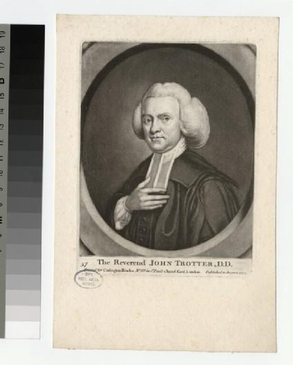 Portrait of J. Trotter