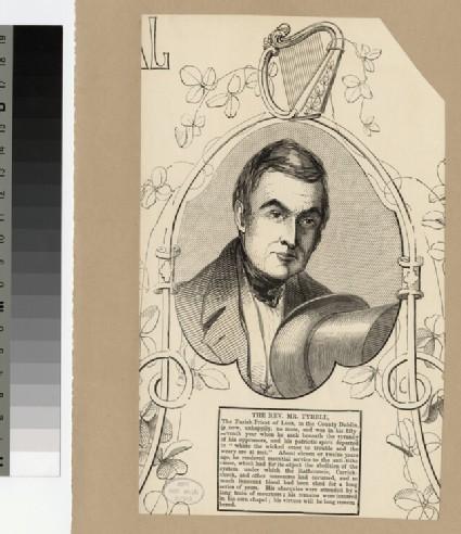 Portrait of Revd Mr Tyrell