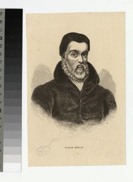 Portrait of W. Tyndale