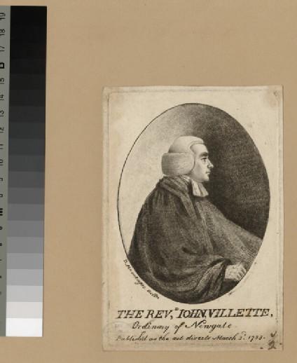 Portrait of J. Villette