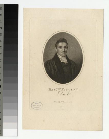 Portrait of W. Vincent