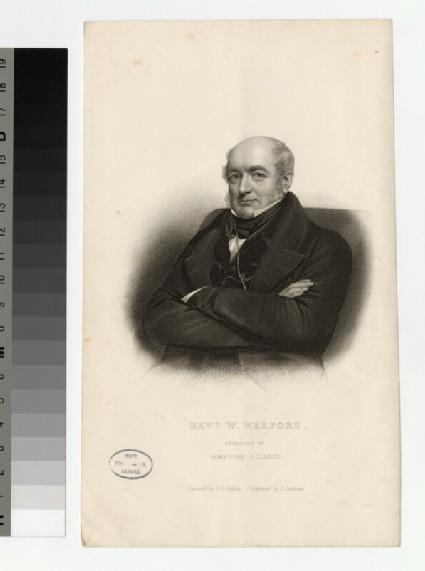 Portrait of W. Walford